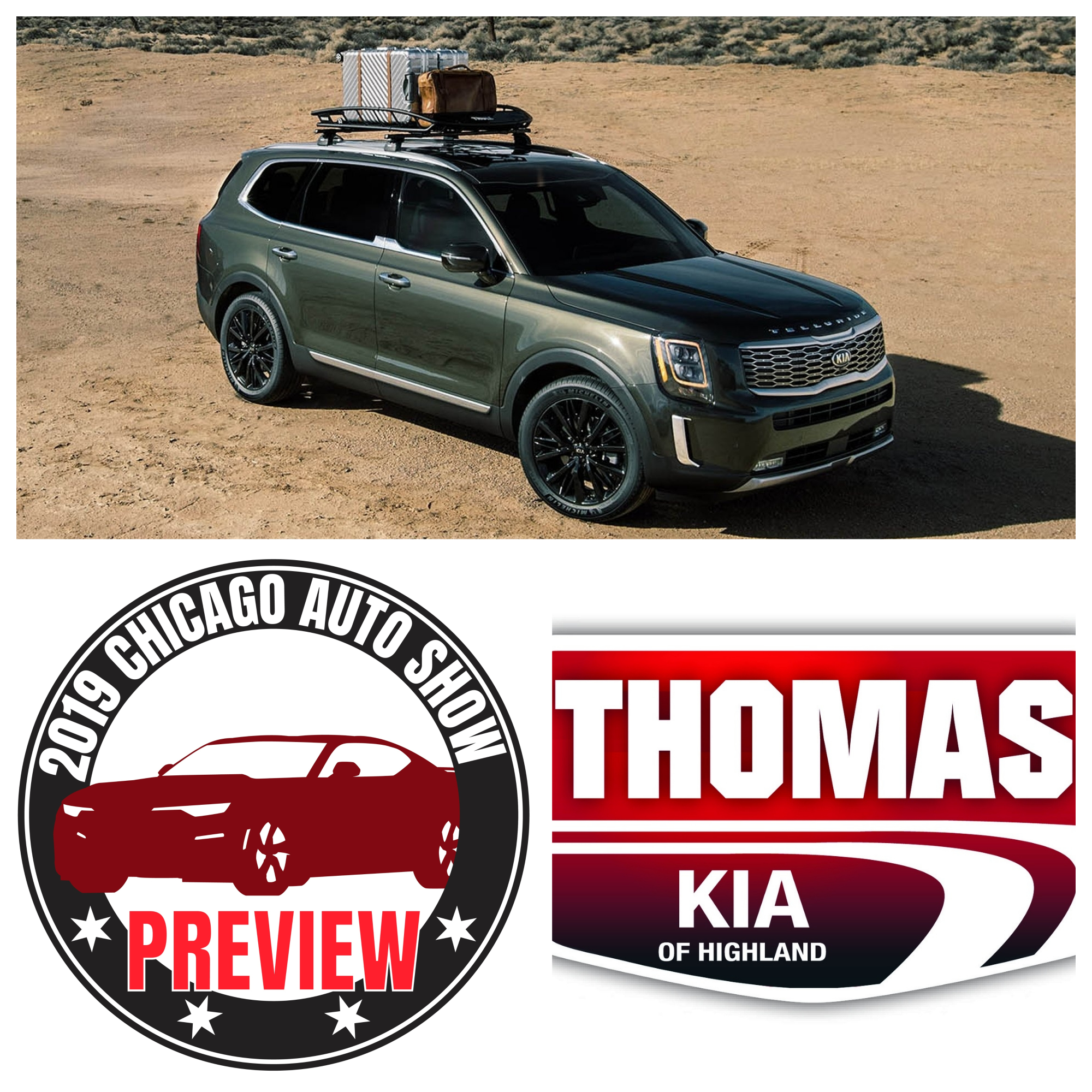 2020 KIA Telluride: A Chicago Auto Show Preview brought to you by Thomas KIA of Highland
