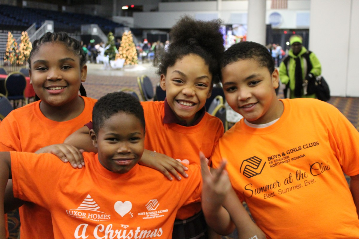 Boys & Girls Clubs of Greater Northwest Indiana Give 500 Area Children a Christmas to Remember