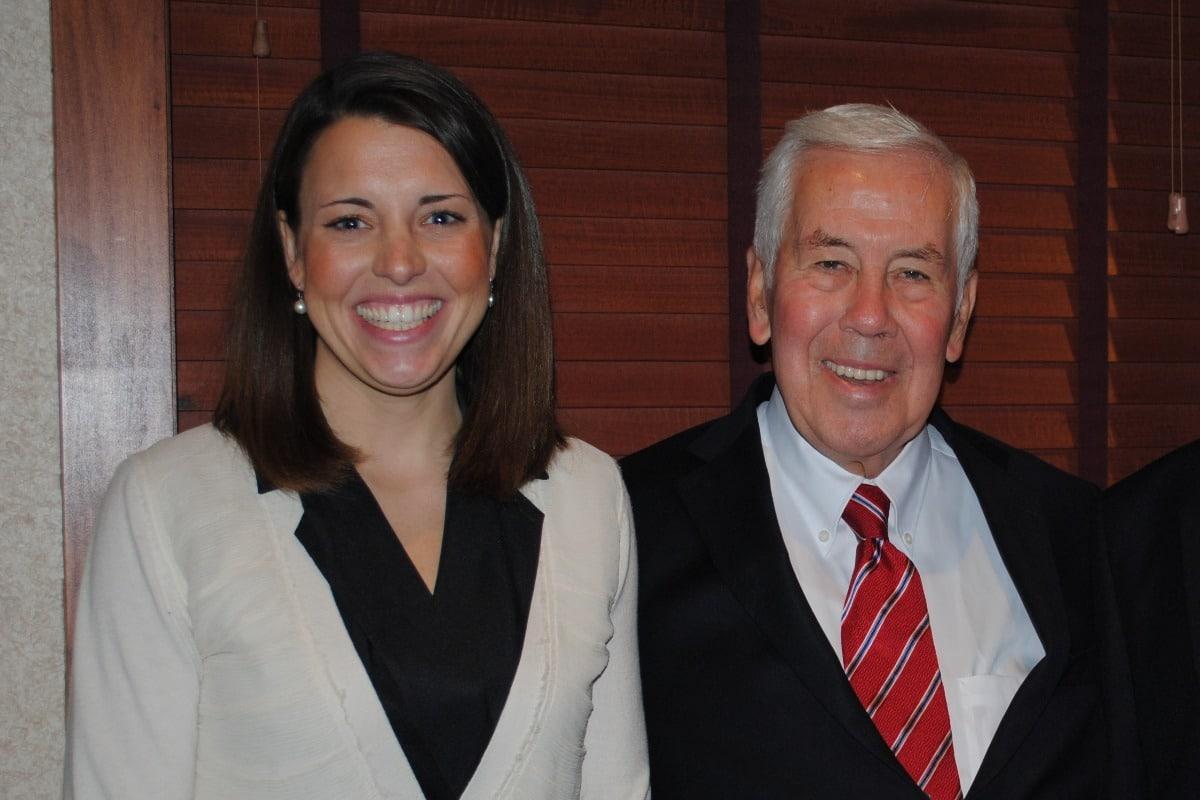 Blair Milo remembers former Indiana Senator Dick Lugar