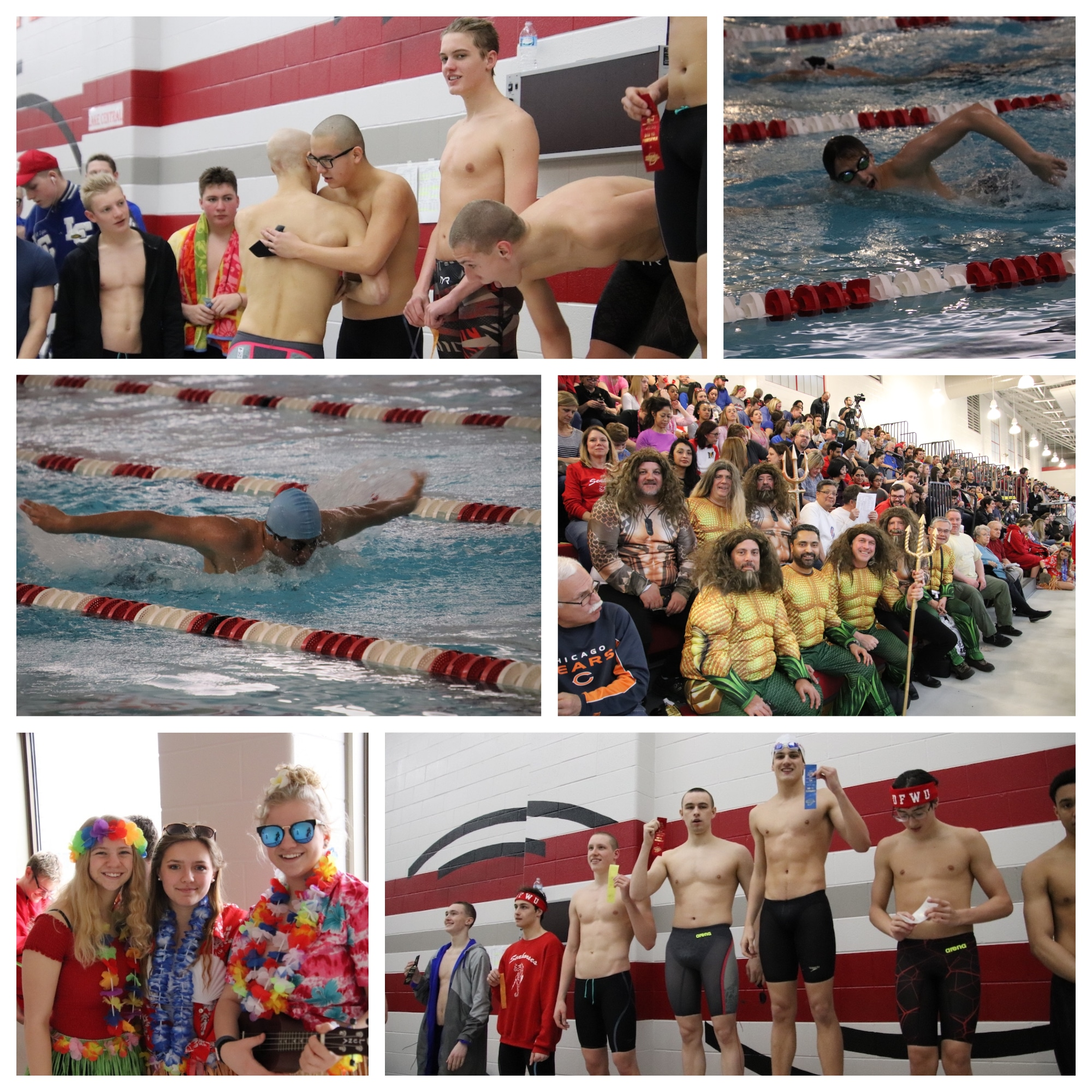 Student Athletes Demonstrate their Tenacity at IHSAA Boys 2019 Munster Sectional Swimming & Diving Finals