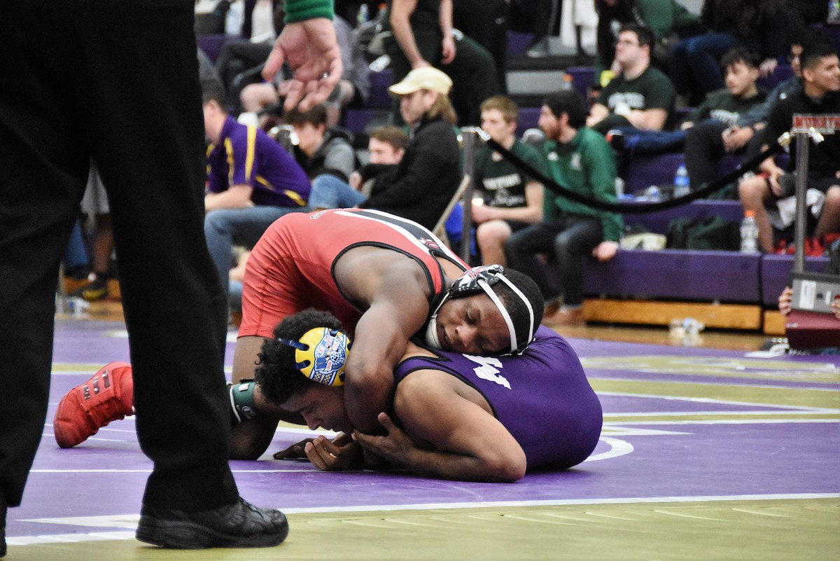 Strong Talent Moves On Following the Men's Wrestling Regional Championship at Hobart High School