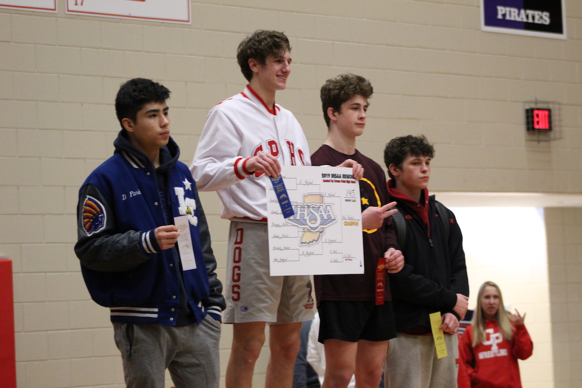 Talent Shines at Boys Wrestling Regional Championship Meet at Crown Point High School