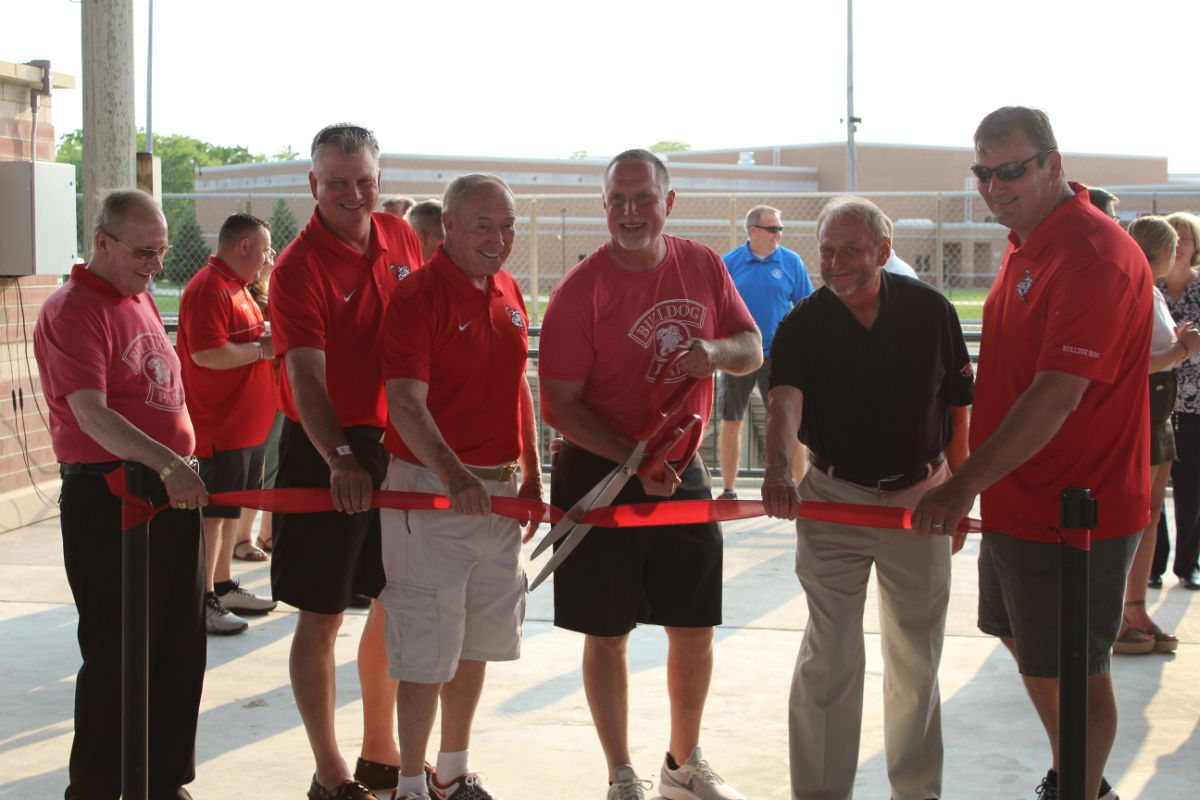 Crown Point's Bulldog Park welcomes the city for its Grand Opening
