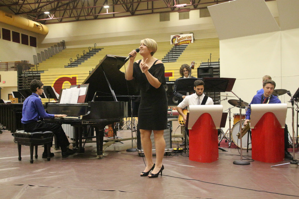 Chesterton High School Band Throws Amazing Holiday Concert