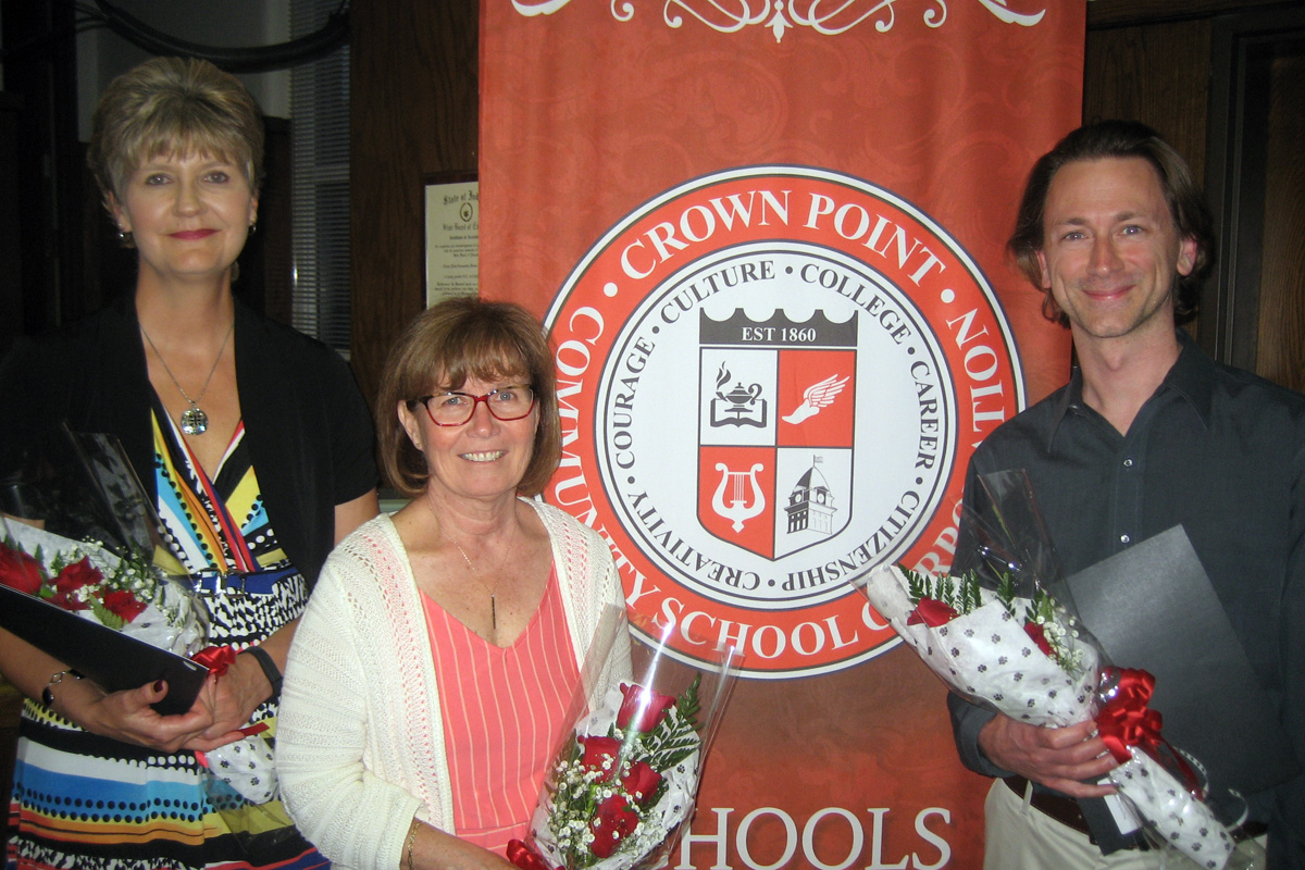 Crown Point Community Schools Announces 2017-18 Teachers of the Year & Employee of the Year
