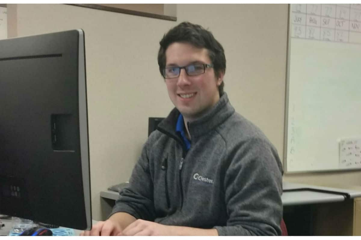 Chester, Inc. promotes technician to engineer