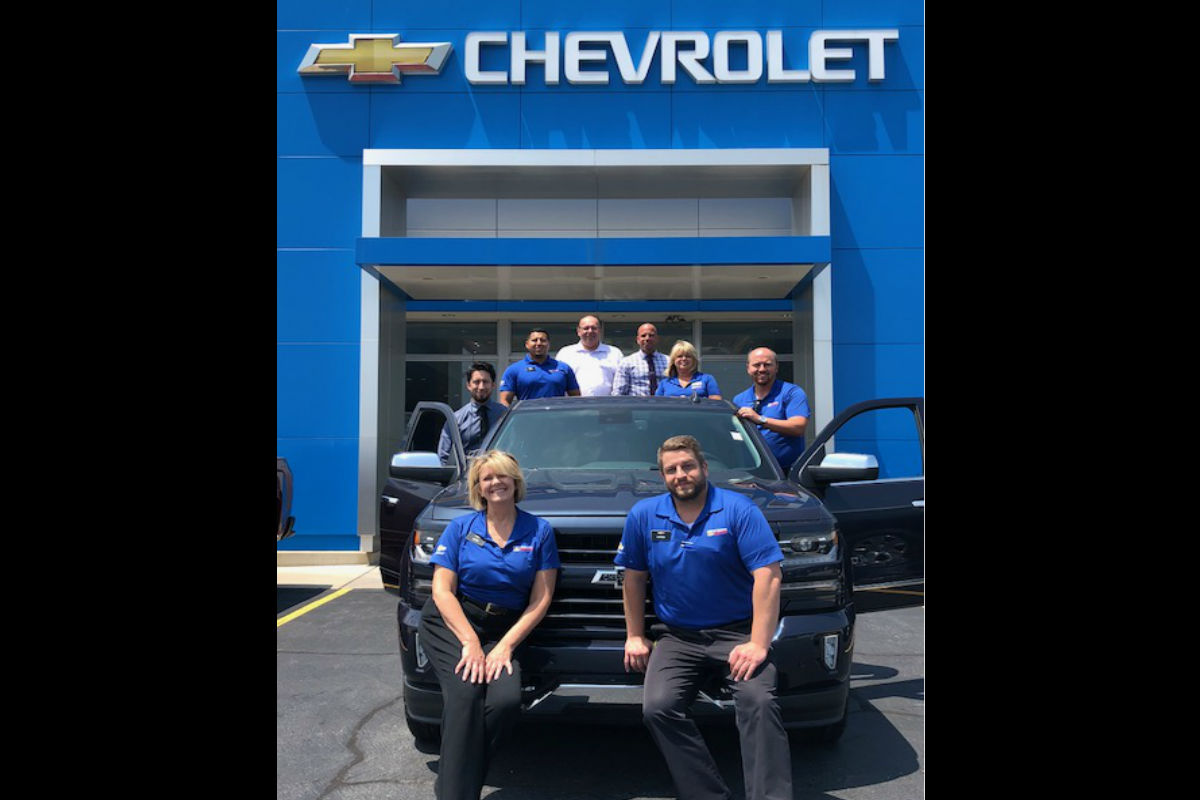 Christenson Chevy: New generation. New Direction. New Roads.