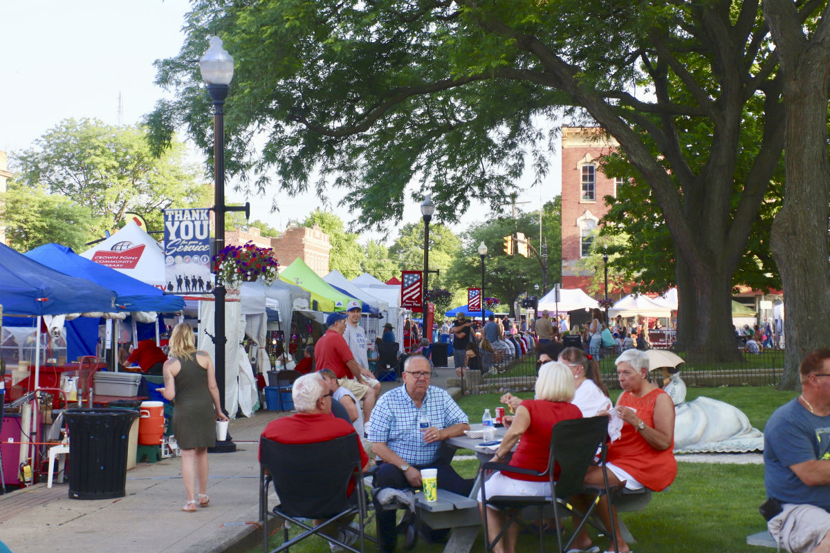 Crossroads Regional Chamber of Commerce Food & Arts Festival Celebrates Local Artists and a Beloved History