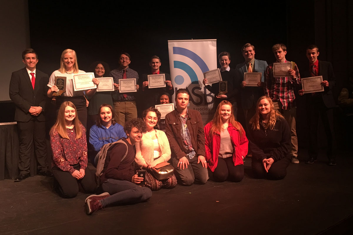2018 Crown Point High School CPTV Class Receives Awards