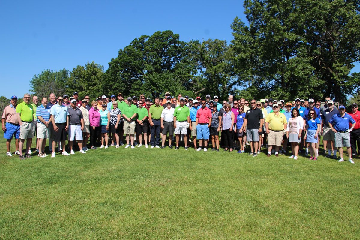 Sand Creek Country Club Welcomes Duneland Chamber of Commerce to Annual Golf Outing