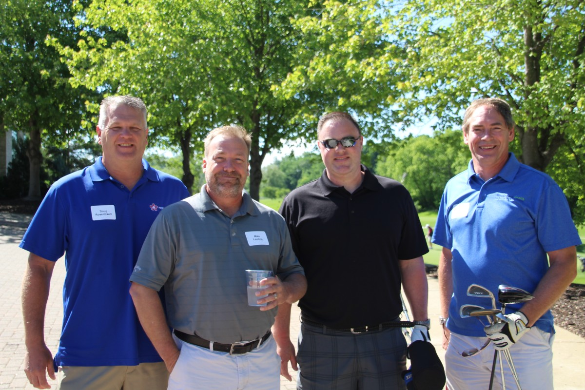 Golfers Enjoy the Duneland Chamber of Commerce 2018 Annual Golf Outing