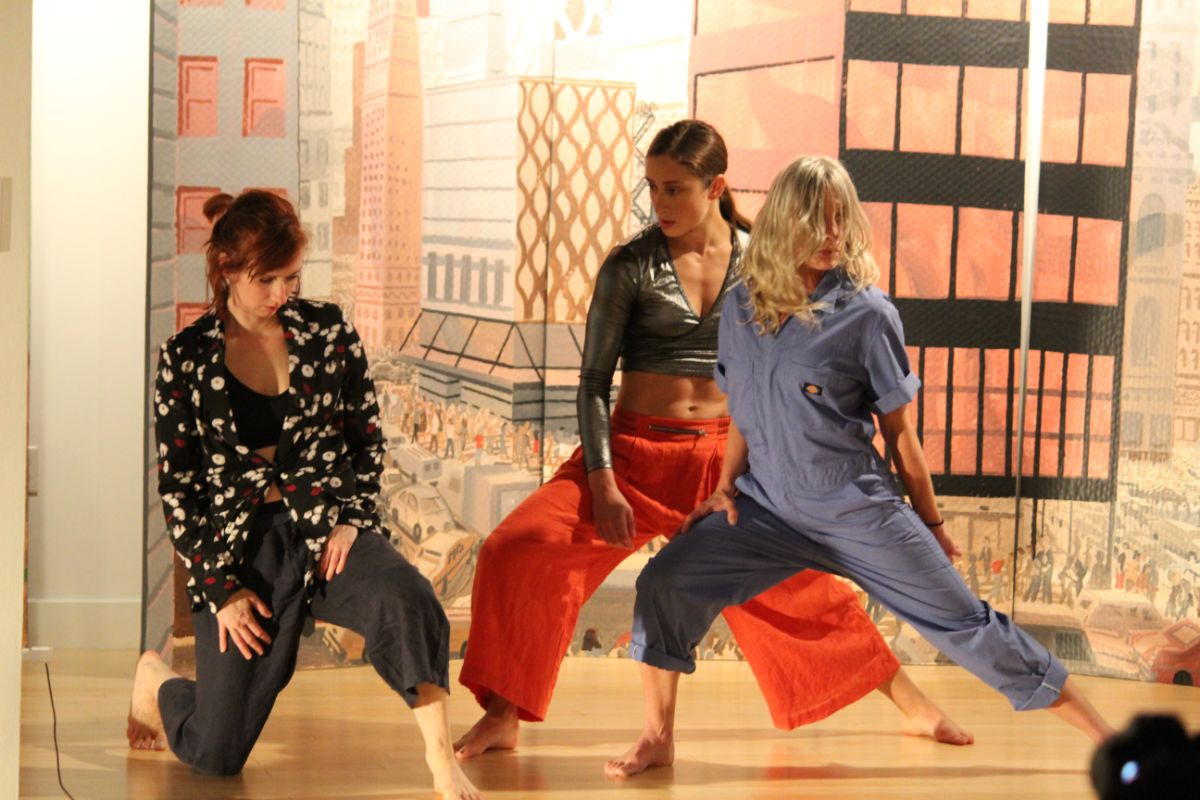The Lubeznik Center for the Arts showcases new art forms with performance by Michigan City Moves