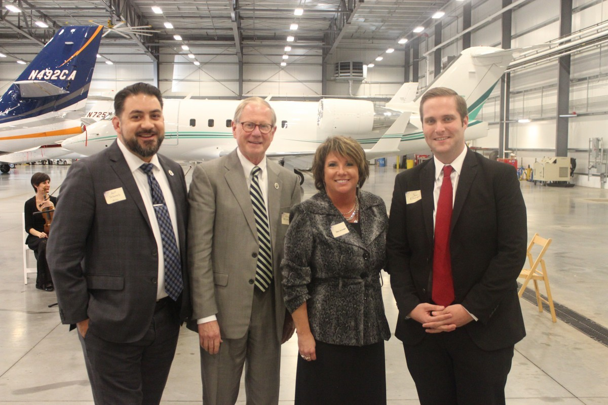 Gary Jet Center Opens New Fixed-Base Operations Center, Unveils Hopes for Future
