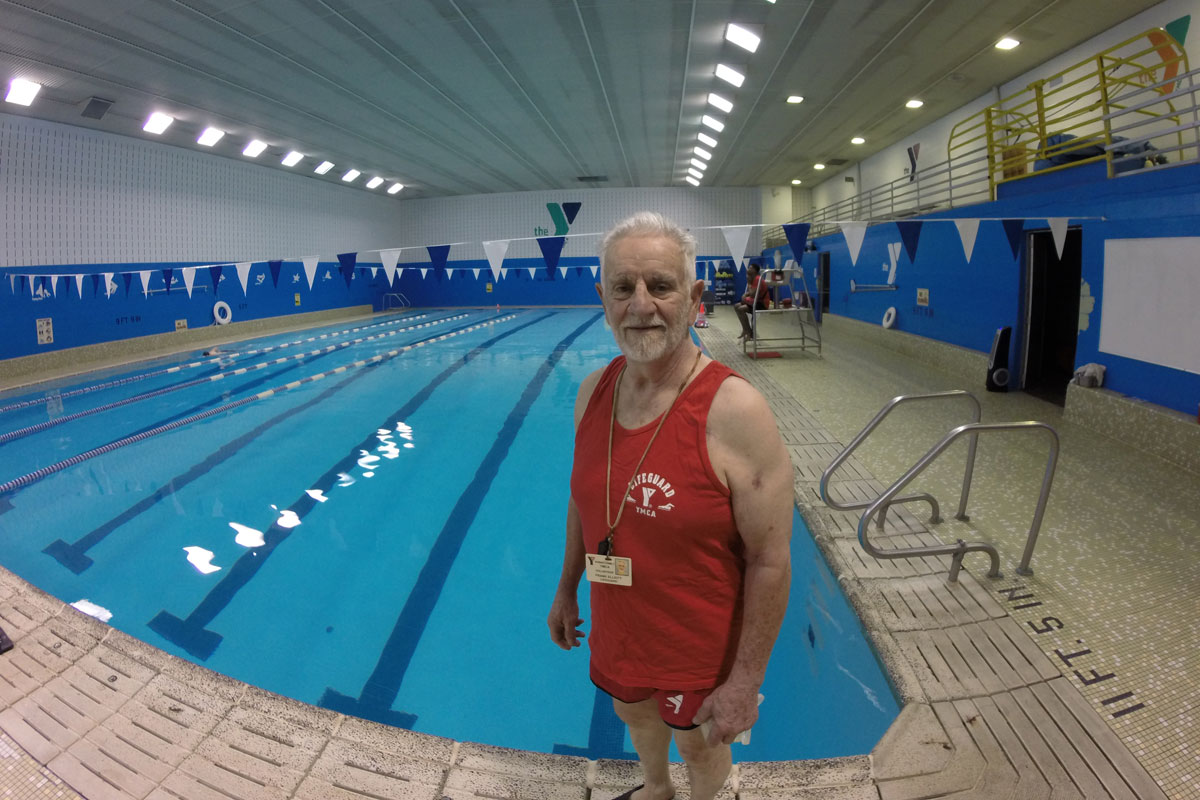 Hammond YMCA Loyal Member and Volunteer for Over 27 Years
