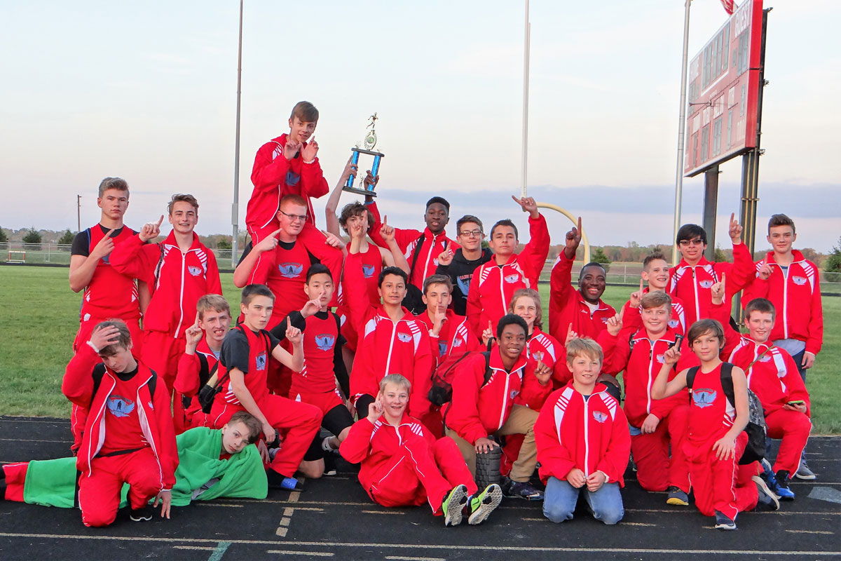Hanover Central Middle School Boys Track Undefeated in GSSC, Win First-Ever KV Invite