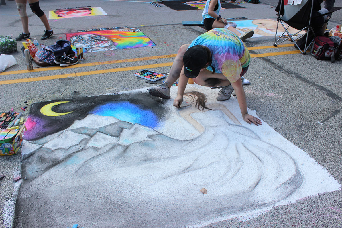 Hooked on Art Festival Sept 23 to Color Downtown Chesterton with Family Fun