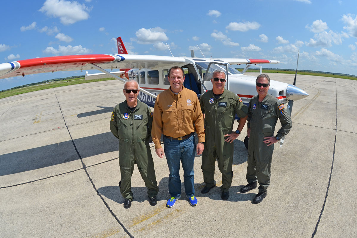 Indiana Wing Civil Air Patrol Returns From Hurricane Harvey Support and Prepares for Hurricane Irma