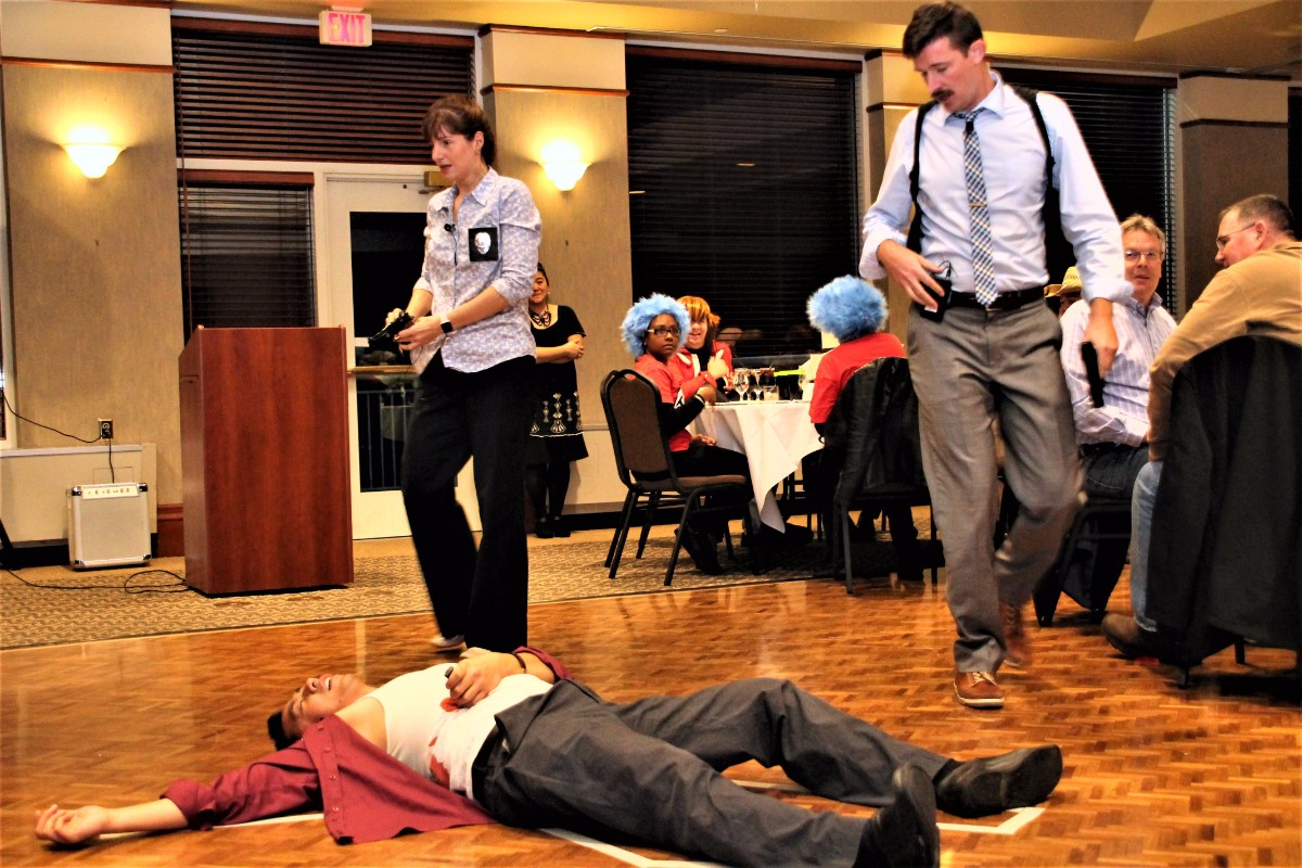 Jacob's Ladder 3rd Annual Murder Mystery Extravaganza Spreads Intrigue, Awareness