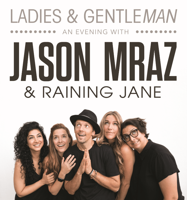 Jason Mraz's tour will make a stop at Four Winds New Buffalo