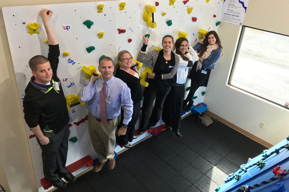 Lakeside Wealth Management Sees Amazing Work of Jacob's Ladder Pediatric Rehab Firsthand