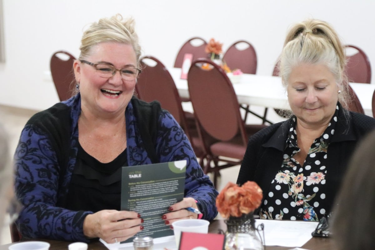 Legacy Foundation Sparks Community Conversation at On the Table Event in Cedar Lake