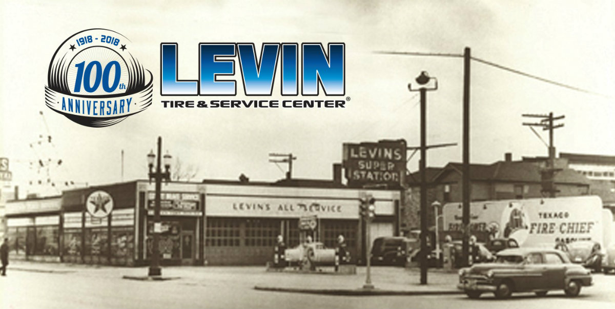 Levin Tire & Service Center Celebrates its 100th Year in 2018