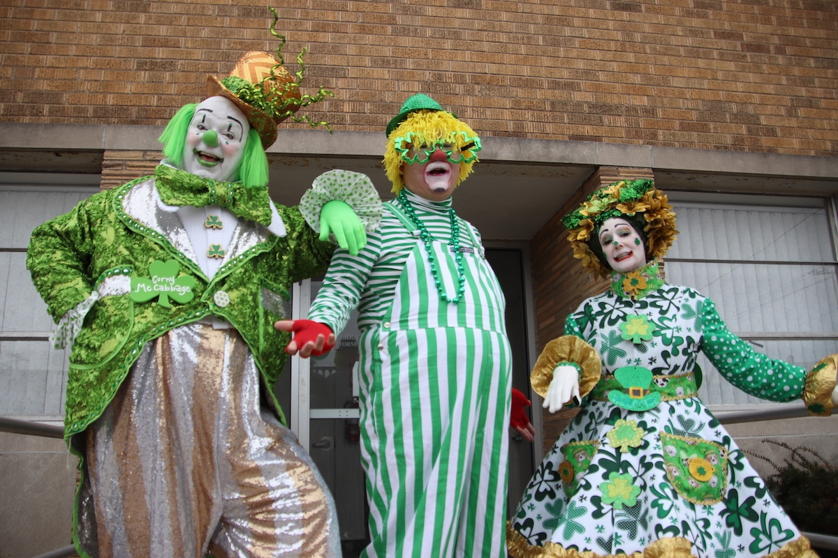 Children Celebrate at Annual Michigan City St. Patrick's Day Parade
