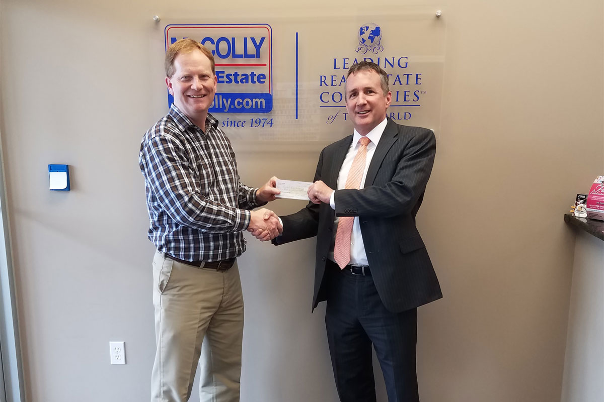 McColly Real Estate Makes Donation to Duneland YMCA