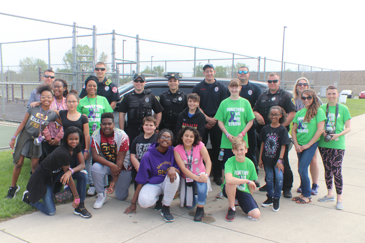 Merrillville Intermediate School Hosts Relay Recess Walk to Raise Money for American Cancer Society
