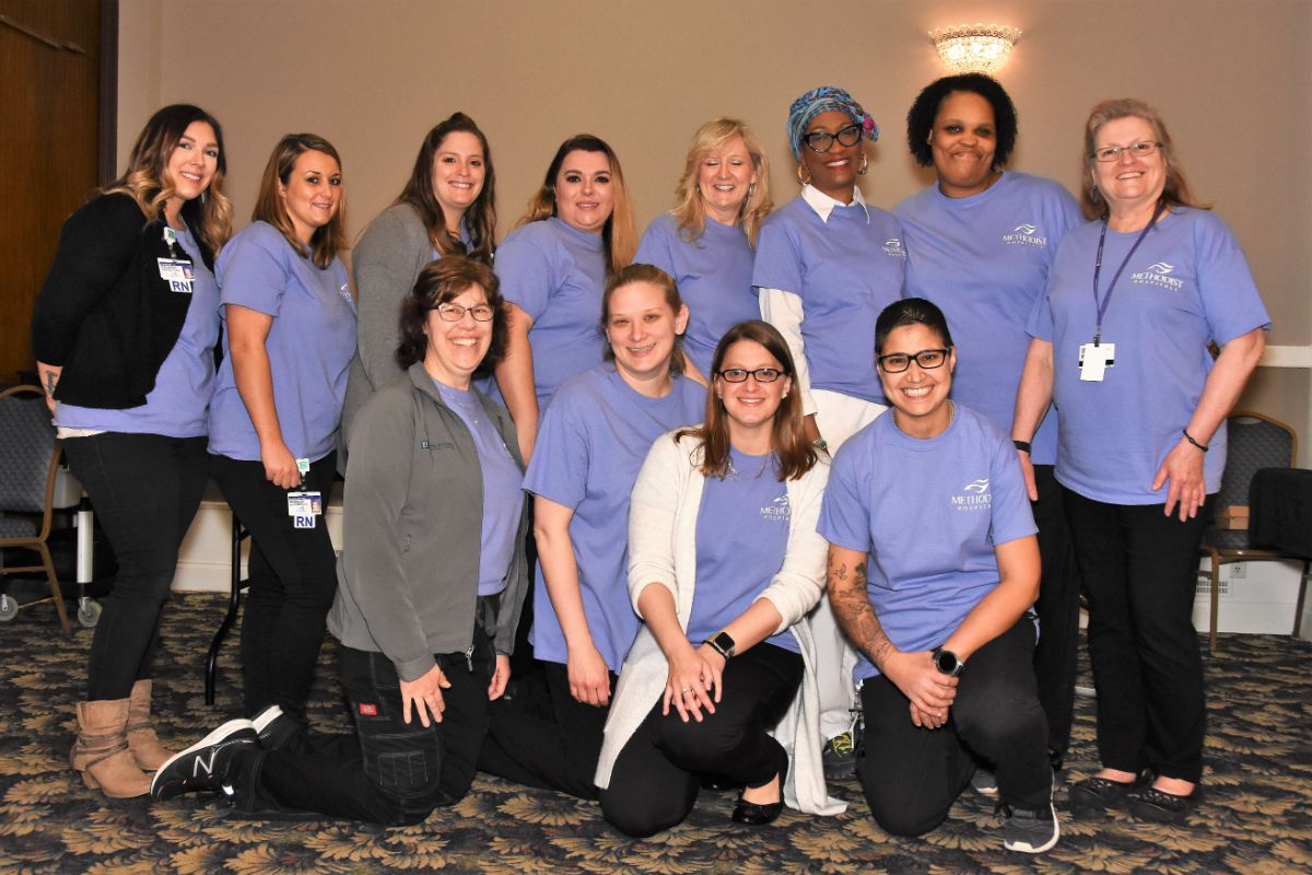 Methodist Hospitals pampers and encourages cancer survivors at annual Spring Spa Day