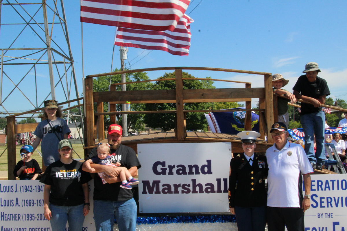 Michigan City's Patriotic Parade Brings Families Together to Celebrate Veterans