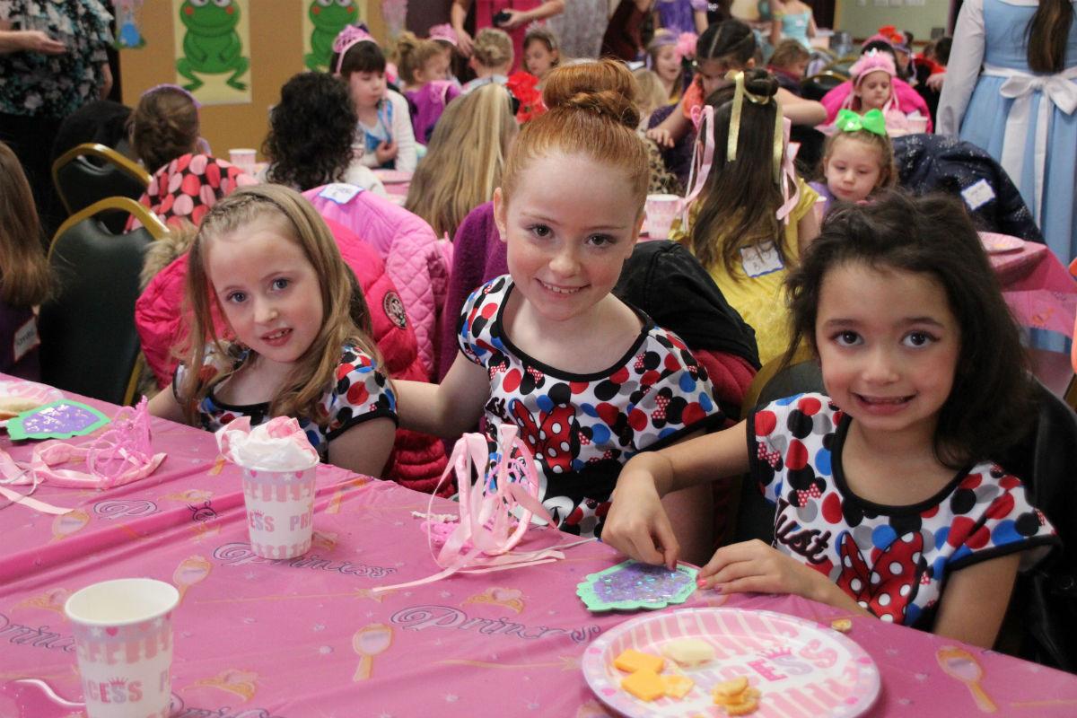 Princesses Receive Royal Treatment at Dyer's 2018 Royal Princess Ball