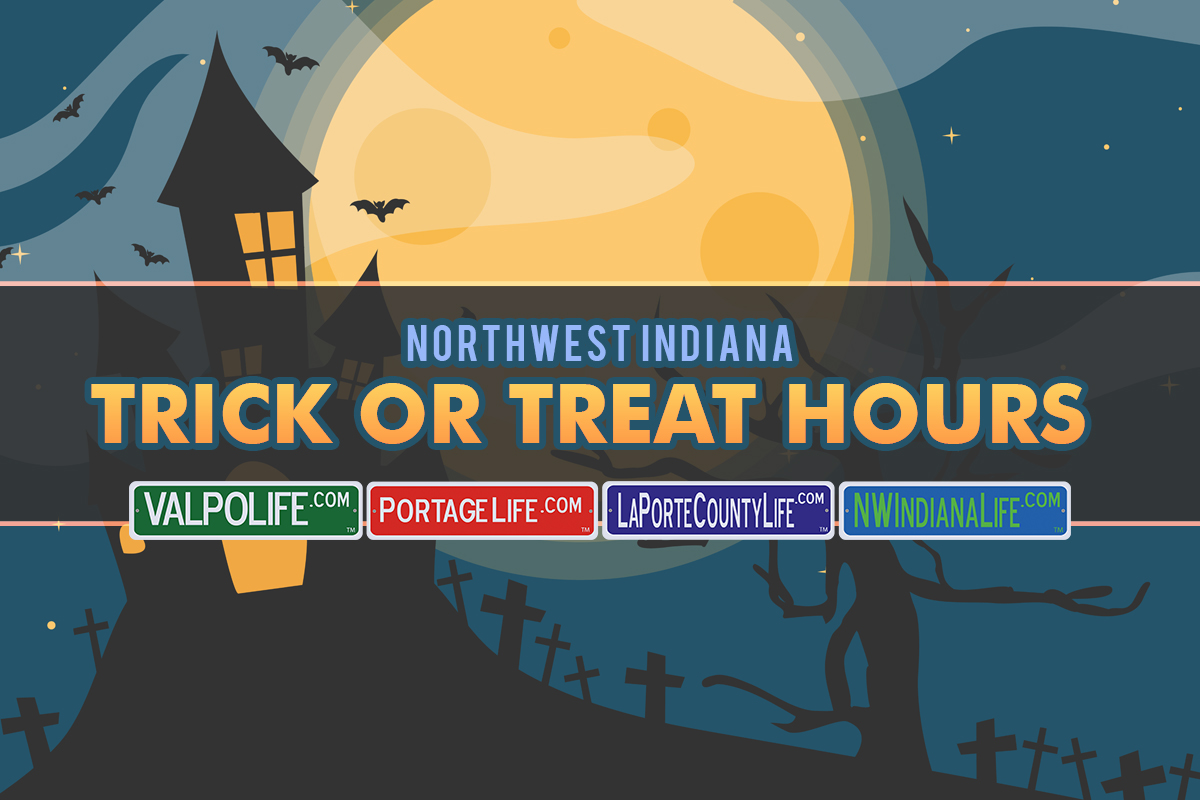 2017 Northwest Indiana Trick or Treating Times