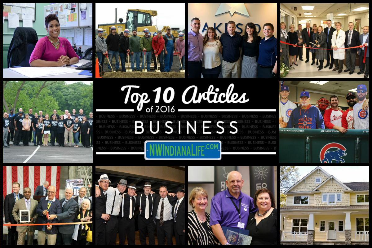 Top 10 Business Stories on NWIndianaLife in 2016