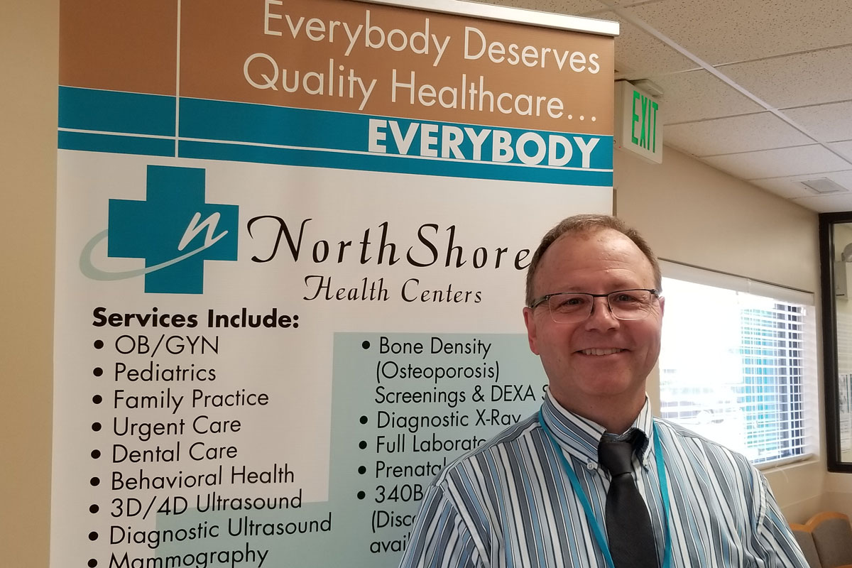 NorthShore Health Centers Employee in the Spotlight: Mike Wichlinski