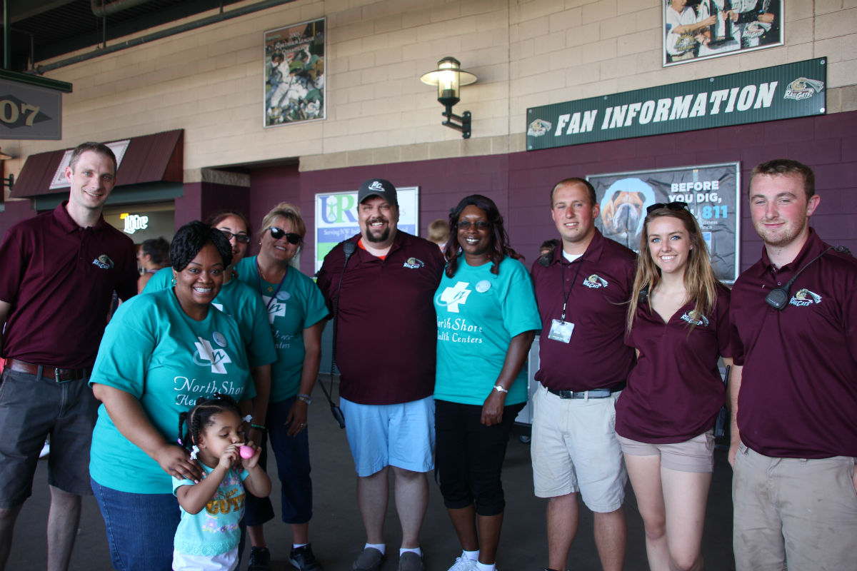 Northshore Health Centers and SouthShore Gary RailCats Partner Together For Annual Health Fair