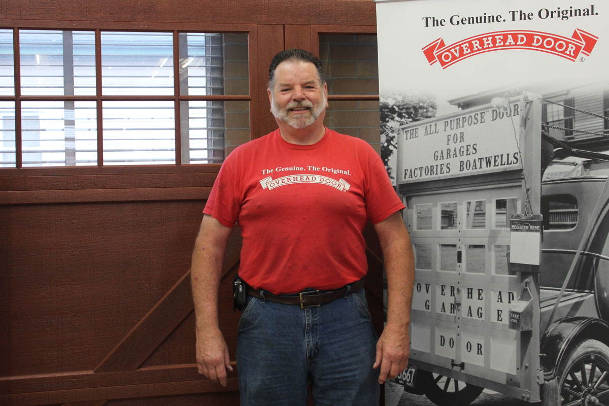 Matt Naillieux of Overhead Door of Northwest Indiana Looks Back on 45 Years in the Business