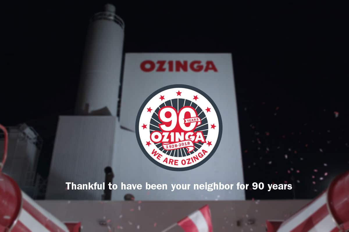 Ozinga Celebrates 90th Anniversary as Family Owned and Operated American Business