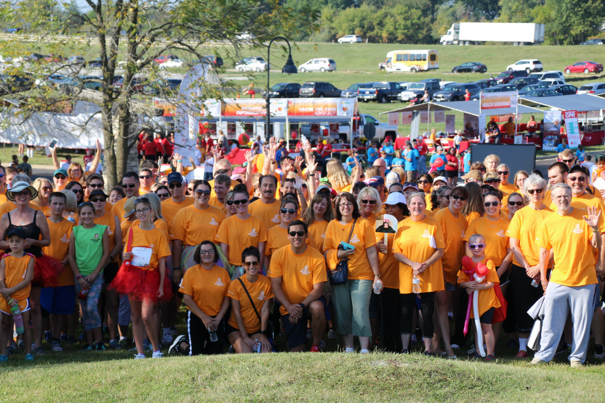 Porter Regional Hospital Employees Raise Funds and Awareness for American Heart Association at 2017 Heart Walk