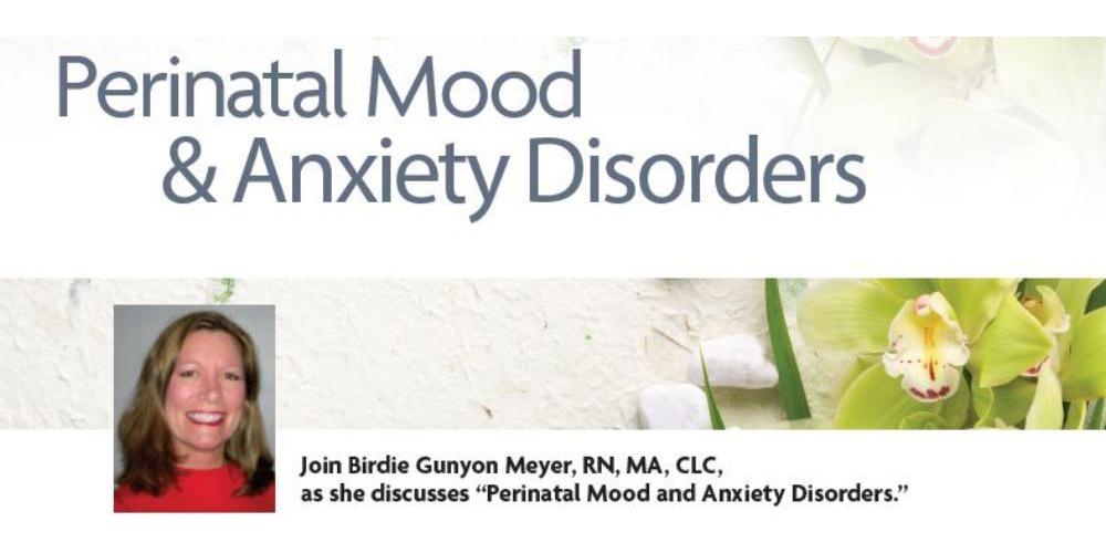 Porter Regional Hospital Hosting 'Perinatal Mood and Anxiety Disorders' Program in September