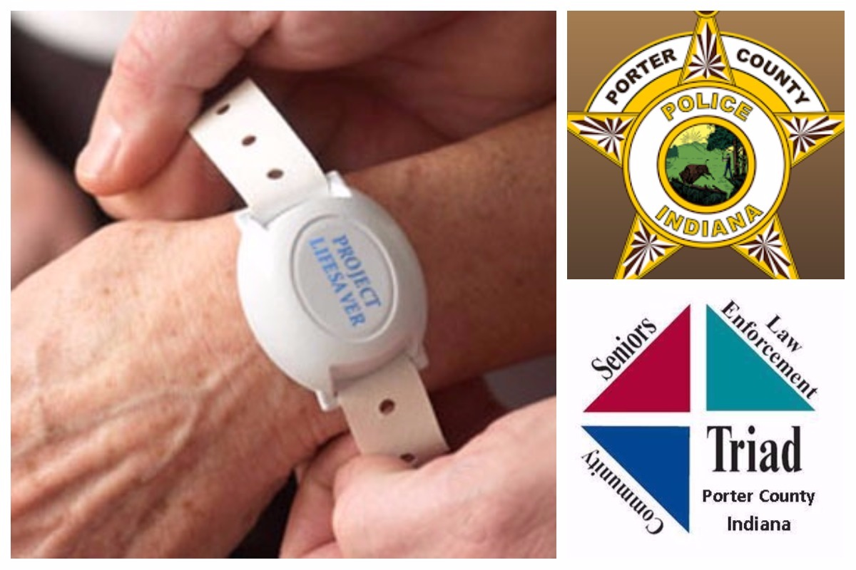 Porter County Sheriff's Office Receives Porter County Triad Grant for Project Lifesaver