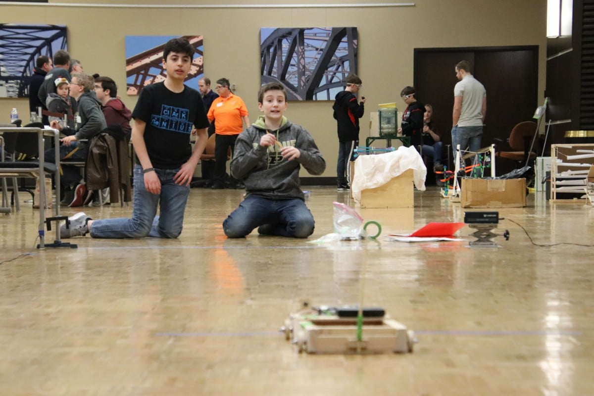 Students Demonstrate their STEM Skills at the Purdue University Northwest Science Olympiad Regional Competition with Support from ArcelorMittal