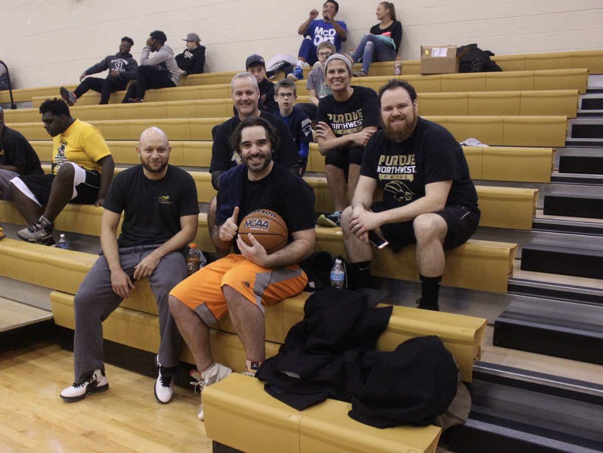 Purdue Northwest Hosts Their First 3 on 3 Pride Classic  Basketball Tournament