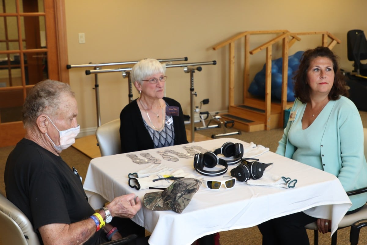 Residences at Deer Creek Let Staff and Guests Walk in Residents' Shoes at Virtual Dementia Tour
