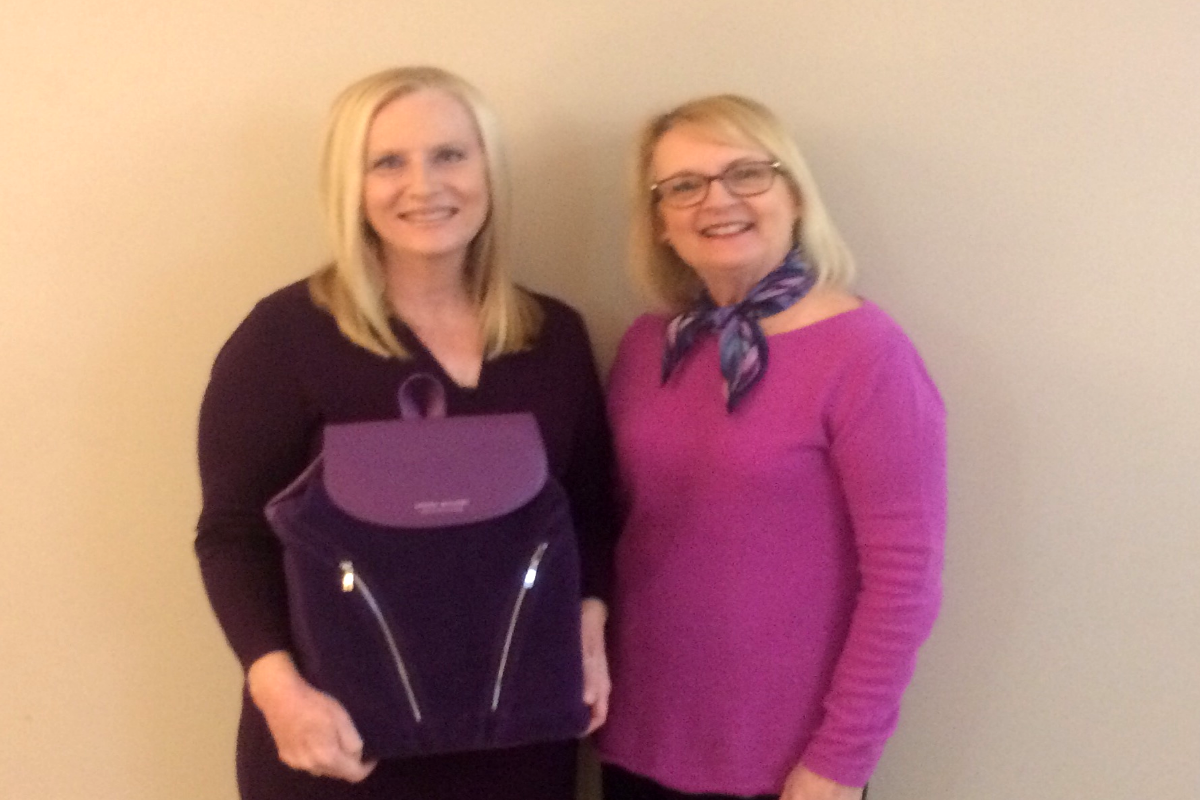 St. Jude House Purple Purse Campaign Raises Nearly $6,000 To Help Break the Cycle of Domestic Violence