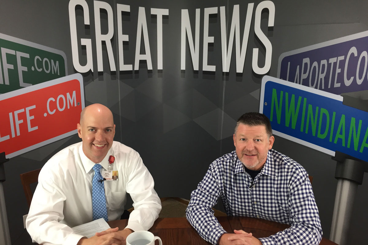 NWI Great News Show: Porter Health Care System CEO, Steve Lunn On Healthcare Innovation and Dedication to Community Service