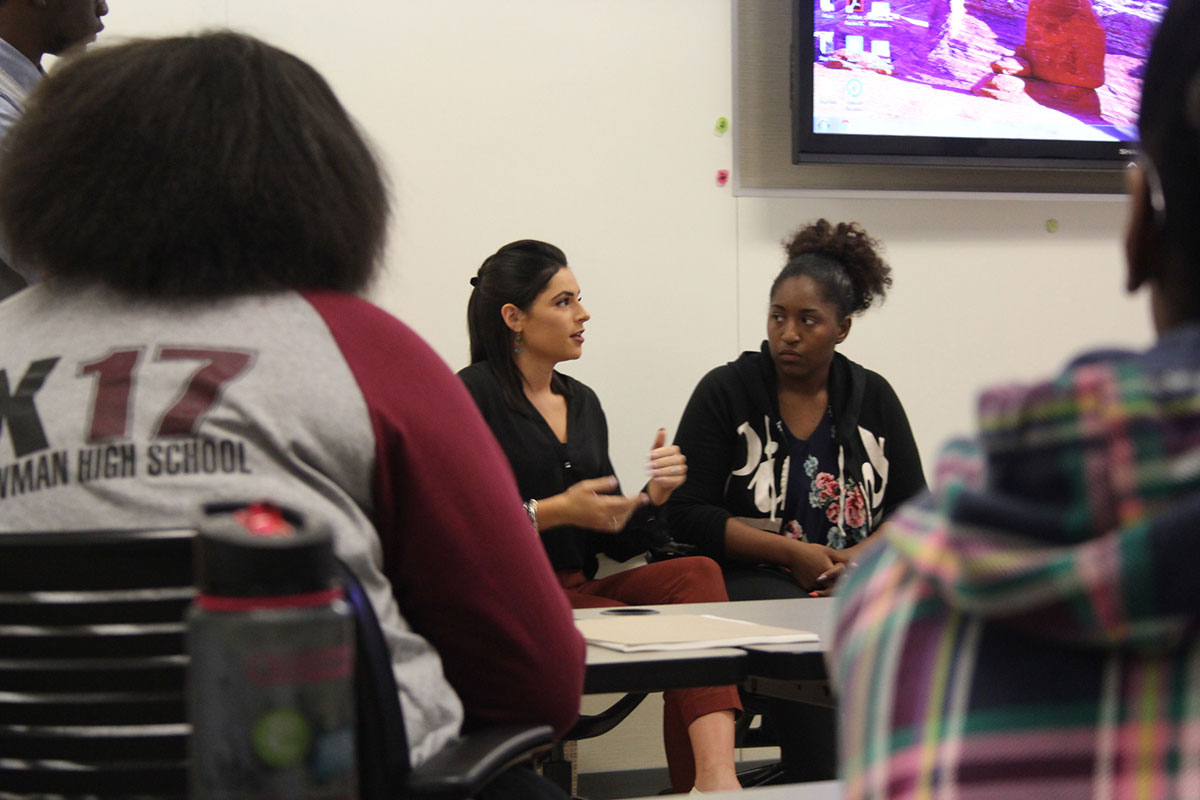 Teens Learn About Health Career Paths, Medical School From IU Northwest Faculty, Students