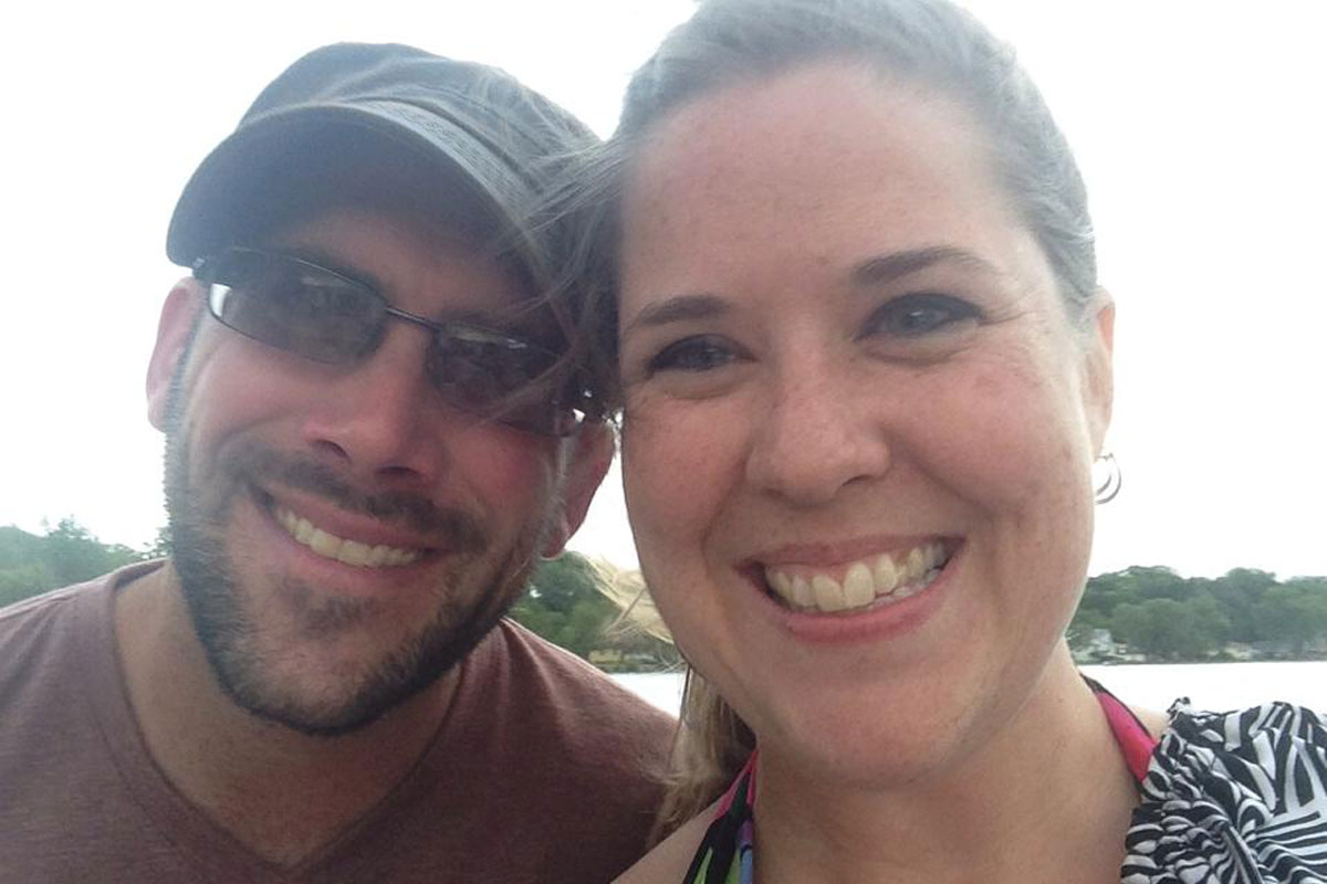A Northwest Indiana Life in the Spotlight: Erin & Richard Strickland