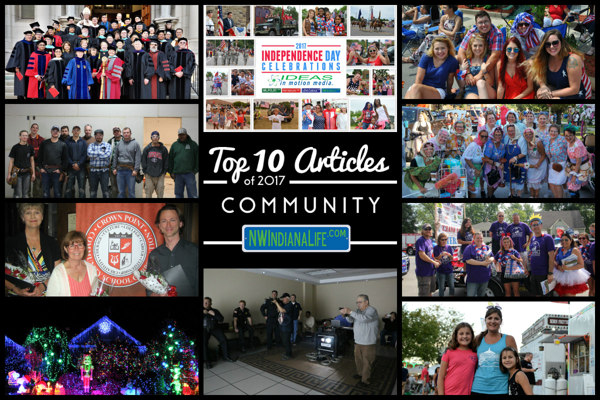 Top 10 Community Articles on NWIndianaLife in 2017