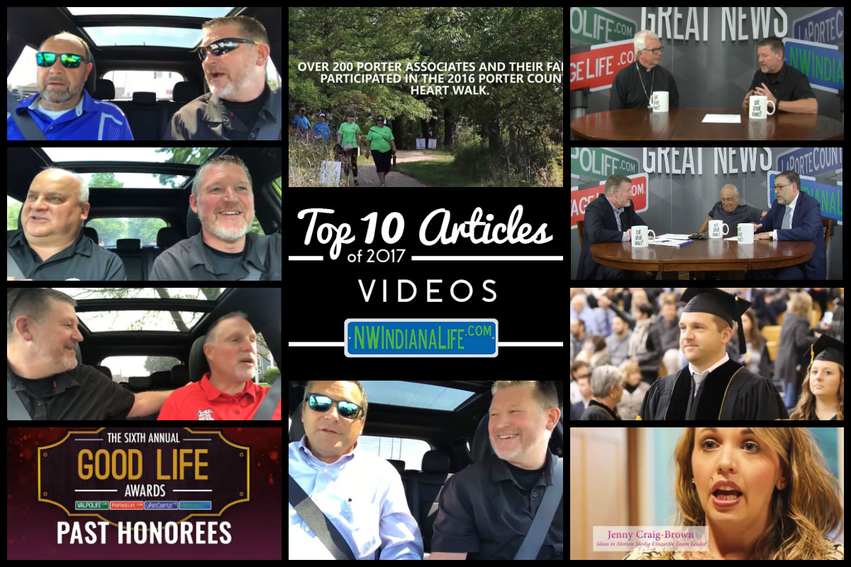Top 10 Videos on NWIndianaLife in 2017